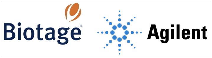 Biotage Agilent Logos