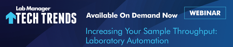 Laboratory Automation Webinar Available On Demand Now